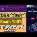 WITHDRAW CRYPTO DELTA LTD | SCAM NOT PAY 100% site scam