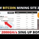new bitcoin mining site 2020 without investment | get 2000Gh/s free | bitland.pro | Non Stop Earning