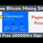 New Free Bitcoin Mining Site Without Investment 2020 | Free BTC Mining Site, Bitcoin