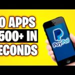 10 Apps That PAY YOU Free PayPal Money (Make Money Online)