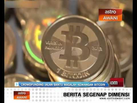 Crowdfunding jalan bantu masalah kewangan Bitcoin