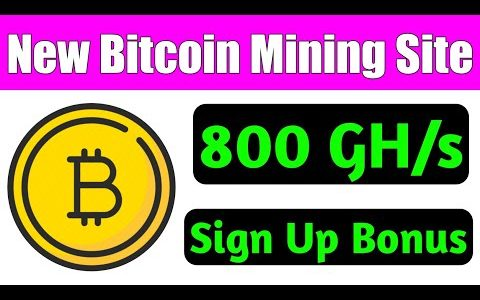 800 GH/s Sign Up Bonus | Bitcoin Genrater | New Launched Bitcoin Mining Site | Earn Daily 0.01 BTC