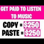 Earn $1082 PER WEEK LISTENING TO MUSIC (Make Money Online)