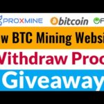 Bitcoin Mining New Website | Withdraw Proof + Giveaway Earn $10 Daily Without Invest Worldwide