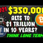 $350k BITCOIN IN 2021? ALTCOINS LIKE CARDANO & LITECOIN ON THEIR WAY TO $1 TRILLION MARKET CAP?