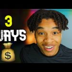 3 Ways To Make Money Online as A TEEN (IN 2021)