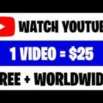 Earn $225 PER HOUR Watching YouTube Videos (Make Money Online)
