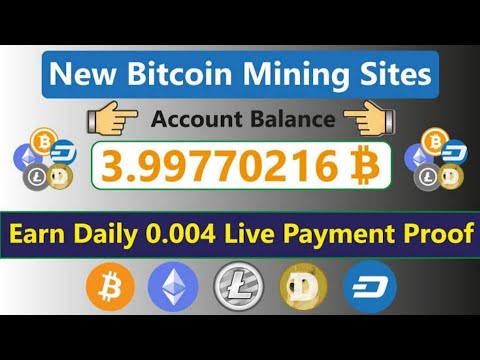 Earn Free Bitcoin Using this Bitcoin Mining Website NO INVESTMENT!