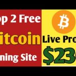 Top 2 Free bitcoin cloud mining site Earn free bitcoin ! Live peyments proof 0.014999 BTC + Giveaway
