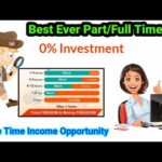 Online income source // Monthly Income above 10,000₹ || Part/Full time job
