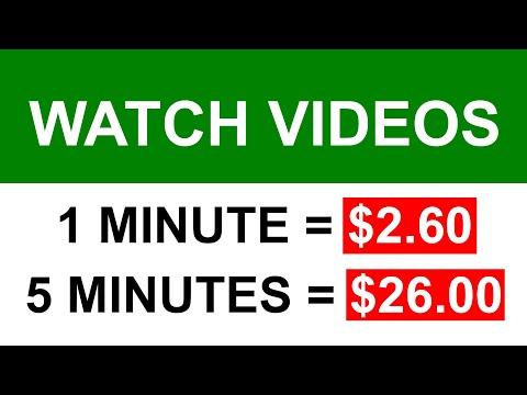 Earn $26 Every 5 Minute WATCHING VIDEOS (Make Money Online)