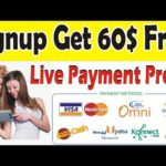 Make Money Online Signup Bouns 60$ Free   Live Payment Paroof   Finco.cash Site Malik Online Tricks