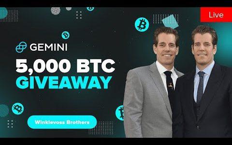 Event for Gemini Cameron & Tyler Winklevoss: Exchange, Bitcoin, Finance, Investments 2020