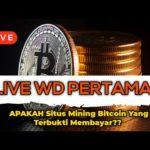 LIVE WD Situs Mining Bitcoin Gratis yang Terbukti Membayar? | Banyak Yang Bilang Situs Ini Scam!