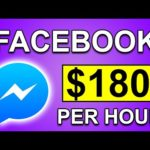 Make $180 PER HOUR FROM FACEBOOK *New Strategy* | Make Money Online