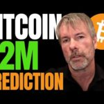MICROSTRATEGY CEO MICHAEL SAYLOR EXPLAINS HOW BITCOIN COULD METEORICALLY RISE 80-100X!!