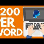 Earn $2,000.00+ TYPING For FREE (Make Money Online)