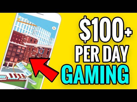 Make $100 Per Day Gaming - Earn Money Playing Games - Make Money Online