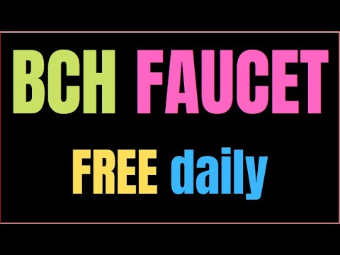 EARN FREE CRYPTO BITCOIN CASH FAUCET #RB M