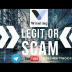 Wiseling Scam Or Legit  Review | Plus Payment Proof Crypto | Update