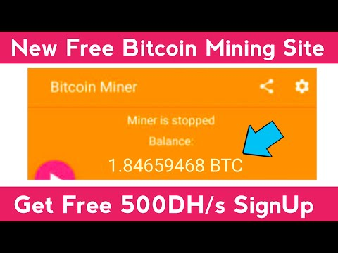 New Free Bitcoin Mining Site Without Investment 2021   New BTC Earning Site   Free Cloud Mining Site