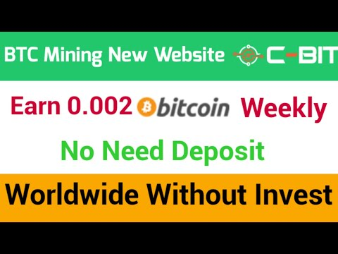 Bitcoin Mining New Website Launched Without Investment Worldwide | Crypto Mining New Website