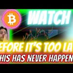 **EVERYTHING** JUST CHANGED FOR BITCOIN!!!! FROM HERE ON OUT - BITCOIN ENTERS *FULL BULL MODE*!!!!!!
