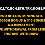 TWO NEW CRYPTOCURRENCY MINING SITE |1000GH &  $10 BONUS | PAYMENT PROOF FROM LEGIT