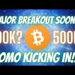 Bitcoin BTC Break Out Imminent!!! BTC Is Major News FOMO Kicking In??? Price Predictions & TA!!!!!!!