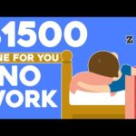 Make $1500 a Day NO WORK (Make Money Online)