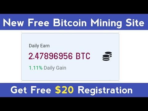 Free Bitcoin Mining Sites Without Investment 2021 | Get Fre $20 Register | Free Bitcoin Earning Site