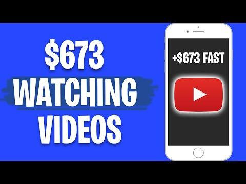 Earn $673 PER DAY WATCHING YOUTUBE VIDEOS! (Make Money Online For Free)