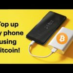 Topping off my mobile phone with Bitcoin! (Bitcoin Adoption Challenge #2)