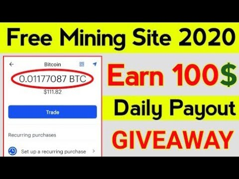 Earn 100$ Btc Daily Without Investment in 2020 | New Free Bitcoin Mining Sites 2020 Crypto Exchange