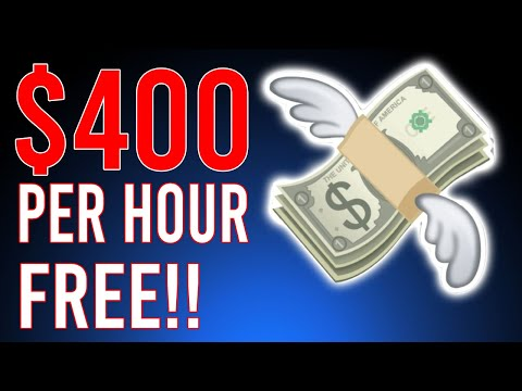 Earn $400 Per Hour While You Sleep! (FREE NOW!) - Make Money Online