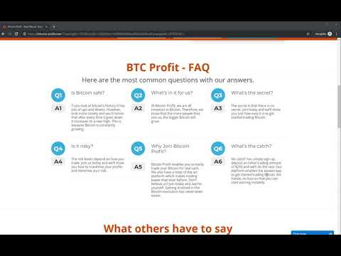 Bitcoin Profit Review 2020 UPDATE   SCAM or LEGIT Live Results