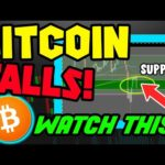 BITCOIN PRICE FALLS AND THIS IS THE CHART YOU NEED TO WATCH!