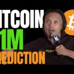BITCOIN RISE TO $1 MILLION POSSIBLE THIS CYCLE, ACCORDING TO CRYPTO ANALYST WILLY WOO!!