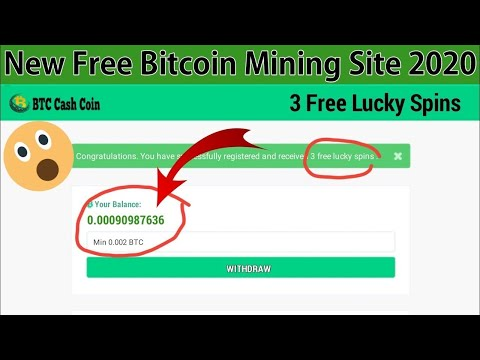 NEW Free! Bitcoin Mining Website 2021 Mine 1 BTC Daily With PROOF