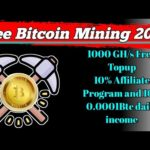 The #Btcgoldmine Free Bitcoin Mining Websites | How to Earn Free Bitcoin in 2021