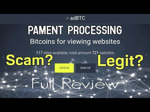 Adbtc.Top Scam or Legit?   Free 0.00012531 Btc Withdraw Pending? Bitcoin Earn   Full Review