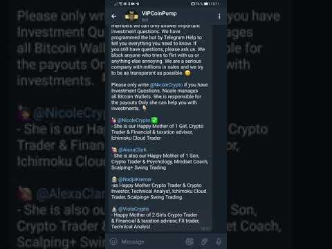 100% Scam - Nicole Ross Pump and Dump - Crypto Telegram group - 4