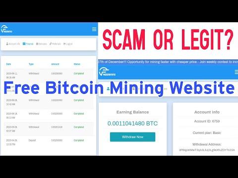 Freemining.Co Scam or Legit?  Free Bitcoin Mining Site 2020 | Pament Proof