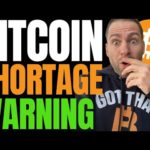 WARNING: BITCOIN SUPPLY CRISIS HIGHLY UNDERRATED AND EXTREMELY BULLISH!! SEC TARGETS RIPPLE XRP!!