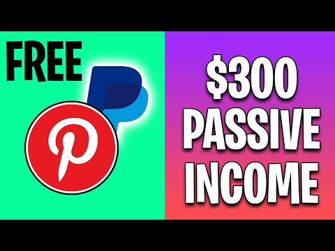 EARN $300 PER DAY In Passive Income From PINTEREST (Make Money Online)