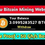 Pos-hash.com Payment Proof | New Launch Bitcoin Mining Website | New Bitcoin Mining Site | Earn BTC
