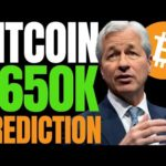 JP MORGAN REPORT SUGGEST BITCOIN PRICE COULD SOAR TO $650K IF BTC STAYS THE COURSE!!