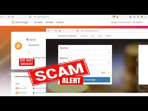 Fake Bitcoin Exchanges [fake exchange site scam] Do not invest