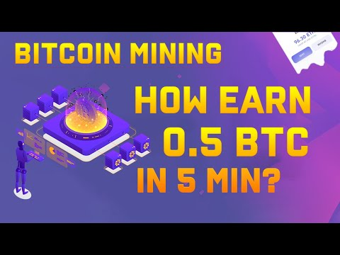 Bitcoin Mining Website | EARN 0.5 BTC IN 5 MINUTES