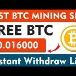 Earn 110$ BTC | New Bitcoin mining site 2020 | btc earning site 2020 | Best BTC mining site 2020